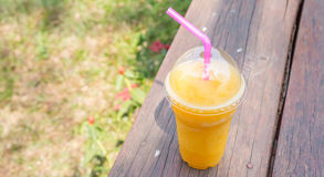 Passion fruit juice Royalty Free Stock Photography