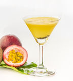 Passion fruit juice it very yummy for decorate project. Stock Photos