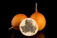 Passion fruit maracuja granadilla Stock Images