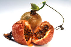 Passion-fruit or maracuya Stock Photos