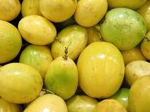 Passion fruit or maracuya background Royalty Free Stock Images