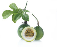 Passion fruit or maracuya Royalty Free Stock Photo