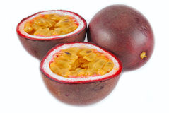 Passion fruit maracuya Royalty Free Stock Images