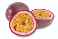 Passion fruit maracuya Stock Photography