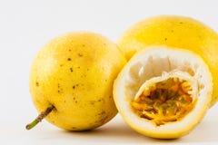 Passion Fruit Passiflora edulis fo. Flavicarpa Royalty Free Stock Photography