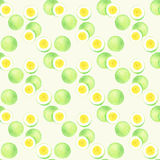 Passion fruit. Seamless watercolor pattern Royalty Free Stock Photo