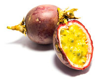 A Passion fruit. Royalty Free Stock Images