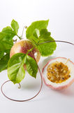 Passion Fruits. With clean setup lighting Royalty Free Stock Photos