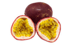 Passion fruits Stock Image