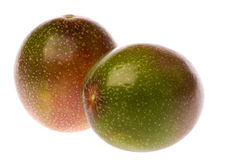 Passion Fruits Isolated Stock Photos