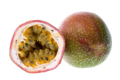 Passion Fruits Isolated royalty free stock photo
