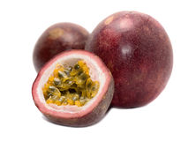 Passion fruits isolated Royalty Free Stock Image