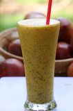 Passion fruits juice Royalty Free Stock Photo