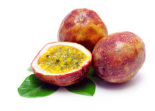 Passion fruits Stock Photo