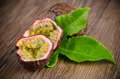 Passion fruits Stock Images