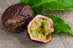 Passion fruits Royalty Free Stock Image