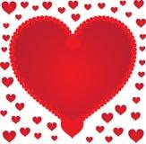 Passion hearts Royalty Free Stock Photos