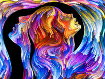 Passion métaphorique illustration stock