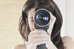 Passion for old cameras Royalty Free Stock Images