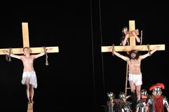 Passion play Stock Image