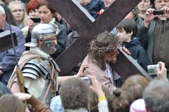 Passion play Royalty Free Stock Image