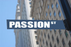 Passion street Stock Photo