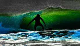 Passion for surf stock image