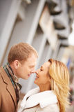 Passion and tenderness Stock Photos