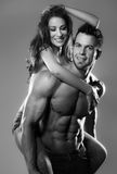 Passion woman and man. Passion women and men in the studio Royalty Free Stock Image