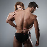 Passion woman and man Stock Photo