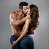 Passion woman and man Stock Images