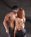 Passion woman and man Royalty Free Stock Photography
