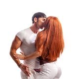 Passion woman and man Royalty Free Stock Photo