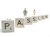Passion in your life Stock Images