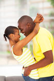 Passionate african couple Royalty Free Stock Photo