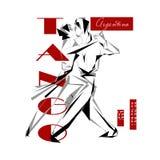 Passionate Argentine tango Stock Image