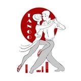 Passionate Argentine tango Stock Photos