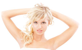 Passionate beauty close up Stock Images