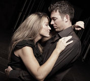 Passionate couple Royalty Free Stock Image