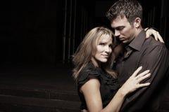 Passionate couple Stock Image