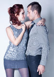 Passionate couple Royalty Free Stock Photography