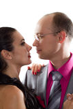 Passionate couple in love Royalty Free Stock Photo