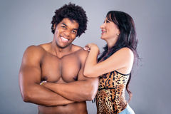 Passionate couple Royalty Free Stock Photo