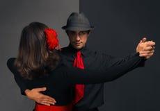 Passionate dance Stock Photos