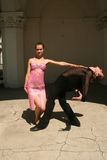 Passionate dancing Stock Photo