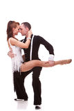 Passionate dancing couple Royalty Free Stock Photo