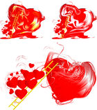 Passionate heart Royalty Free Stock Images