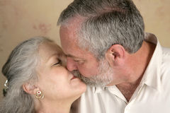 Passionate Kiss Stock Photos