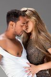 Passionate kiss. Royalty Free Stock Photography