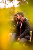 Passionate love Royalty Free Stock Photography